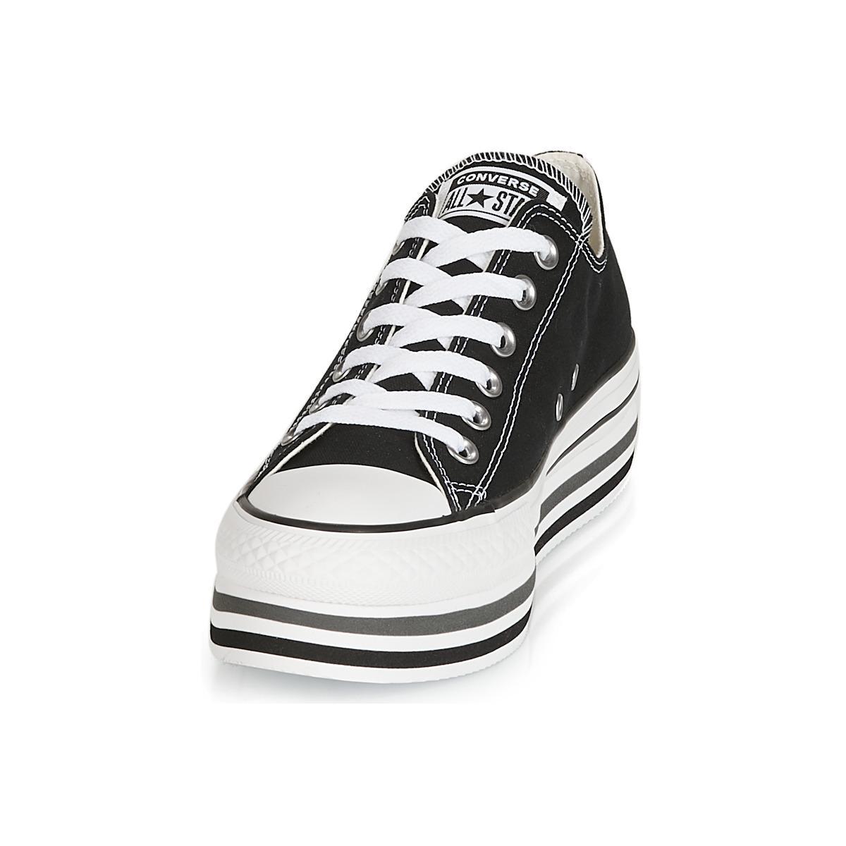 aed78efb5f9e Converse - Black Chuck Taylor All Star Platform Sneakers - Lyst. View  fullscreen