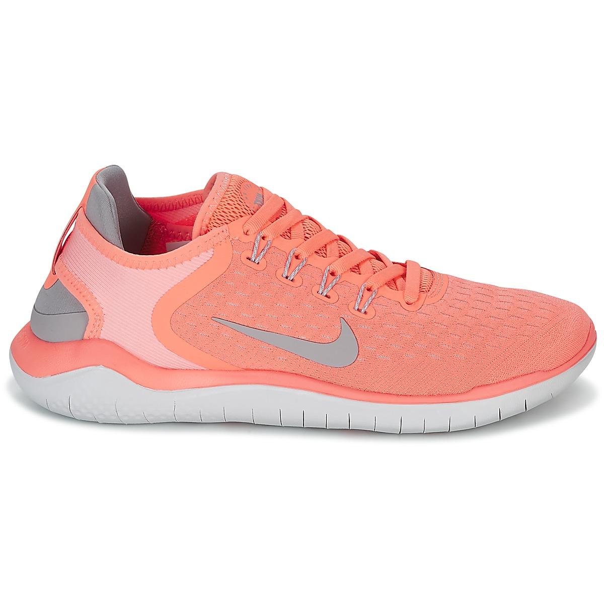 6153d76cfd6 Nike Free Rn 2018 W Women s Running Trainers In Pink in Pink - Save ...