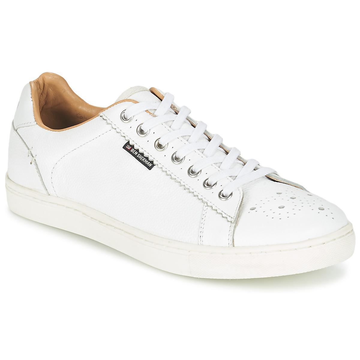 Mens Tredegar Low-Top Sneakers Ben Sherman PZlIU