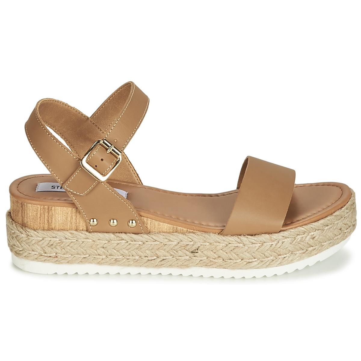 b501645fb7a Steve Madden - Brown Chiara Sandals - Lyst. View fullscreen