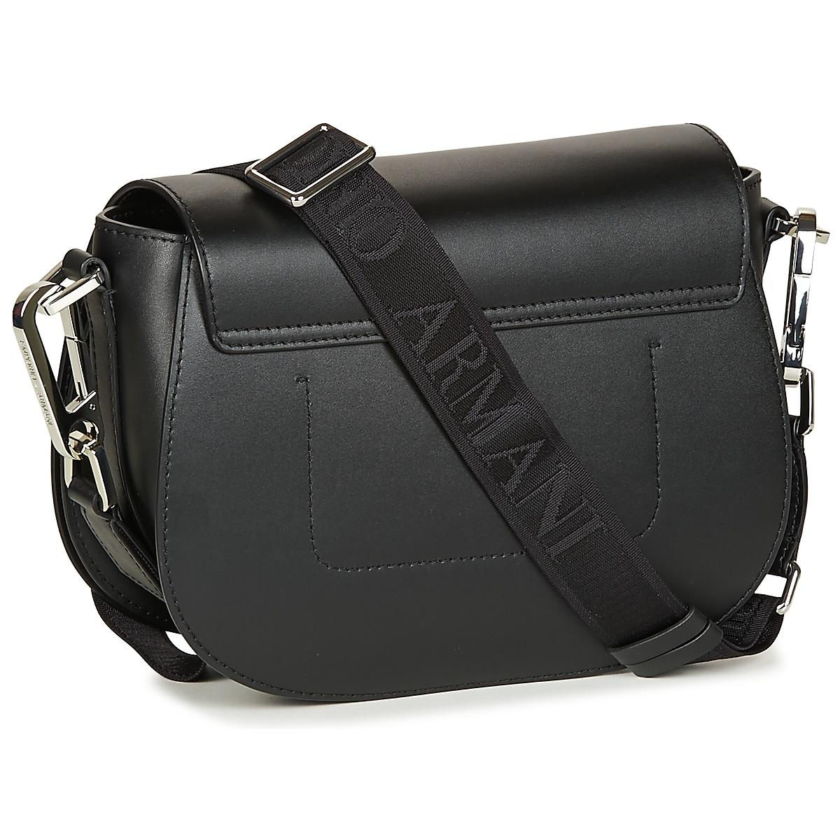 Emporio Armani - Black PEGGY Shoulder Bag Shoulder Bag - Lyst. View  fullscreen 894a55792d75b
