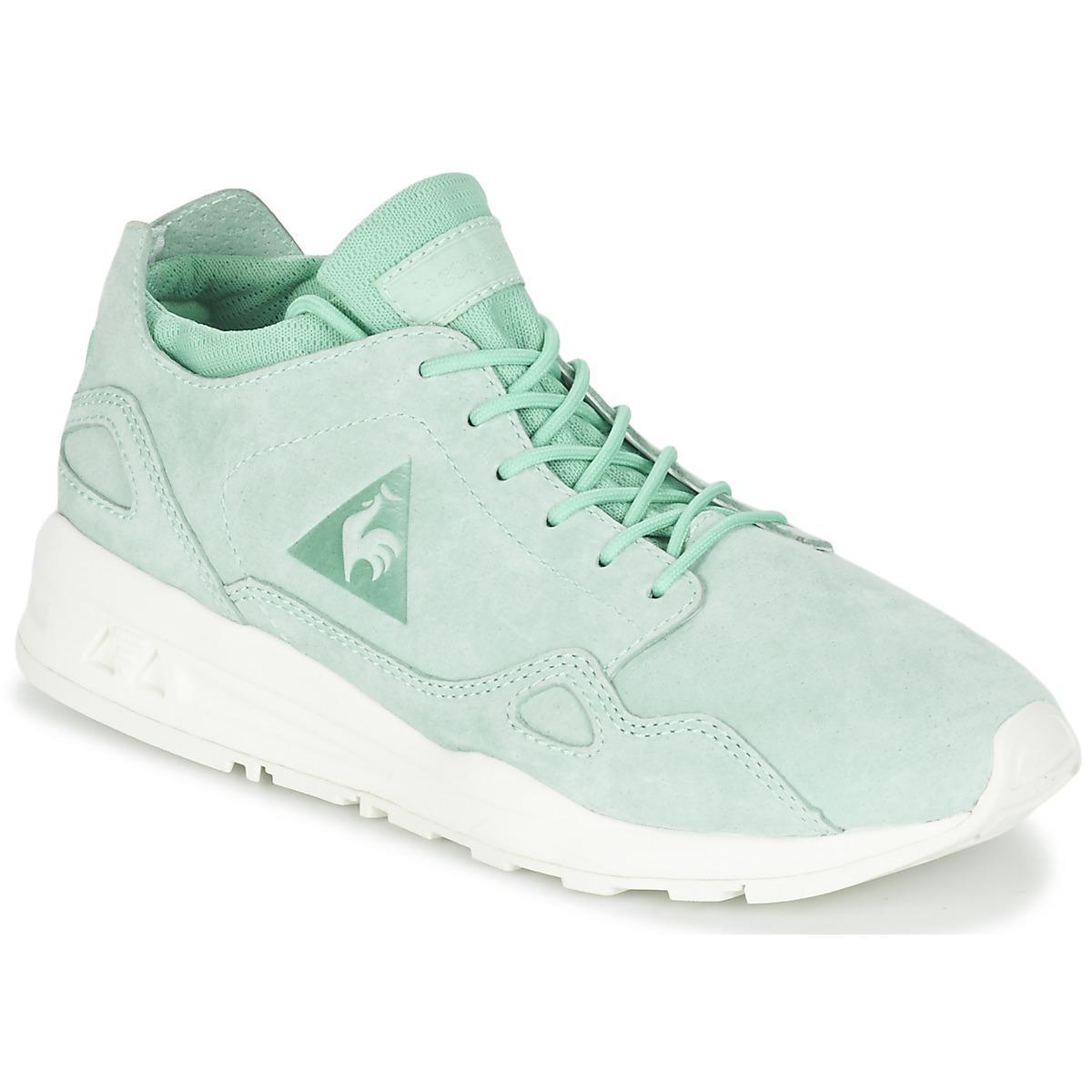 d3da63ab2595 Le Coq Sportif Lcs R Flow W Nubuck Shoes (trainers) in Green - Lyst ...