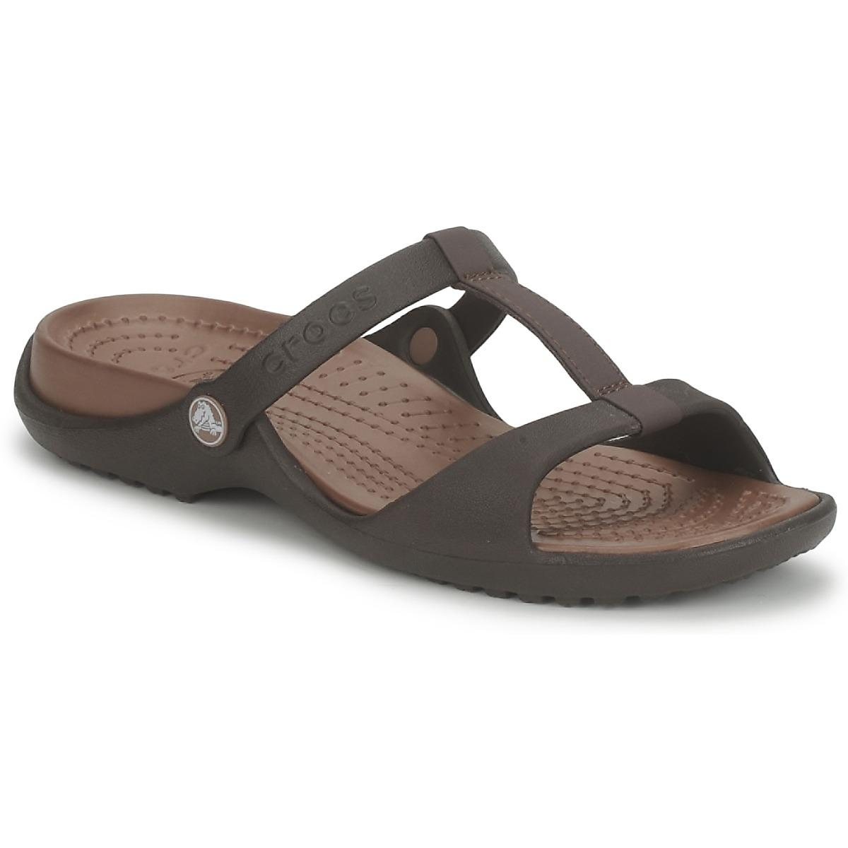 0fd42d986a87 Crocs™ Cleo Iii Mules   Casual Shoes in Brown - Lyst