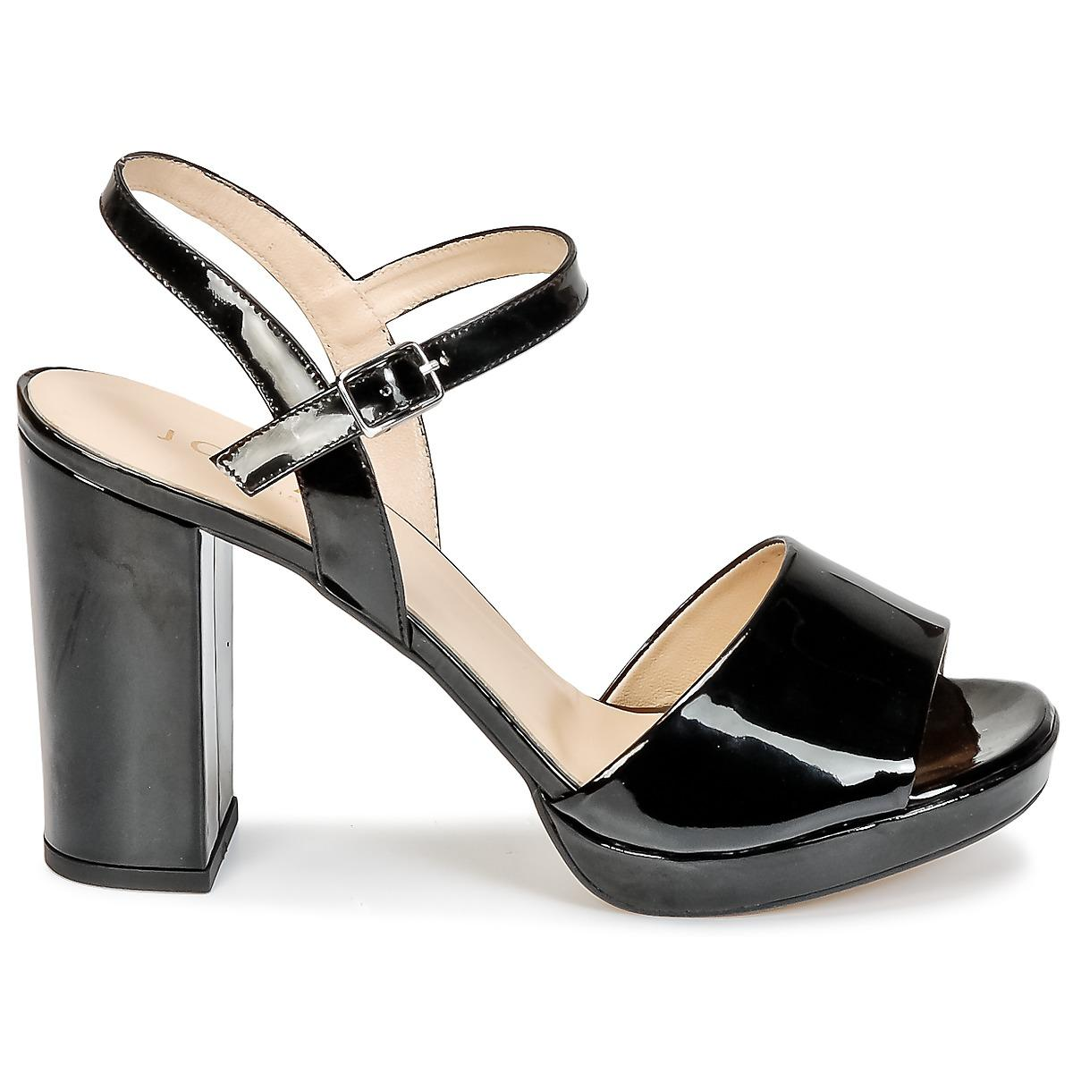 5dc70df38b Jonak - Black Vana Sandals - Lyst. View fullscreen