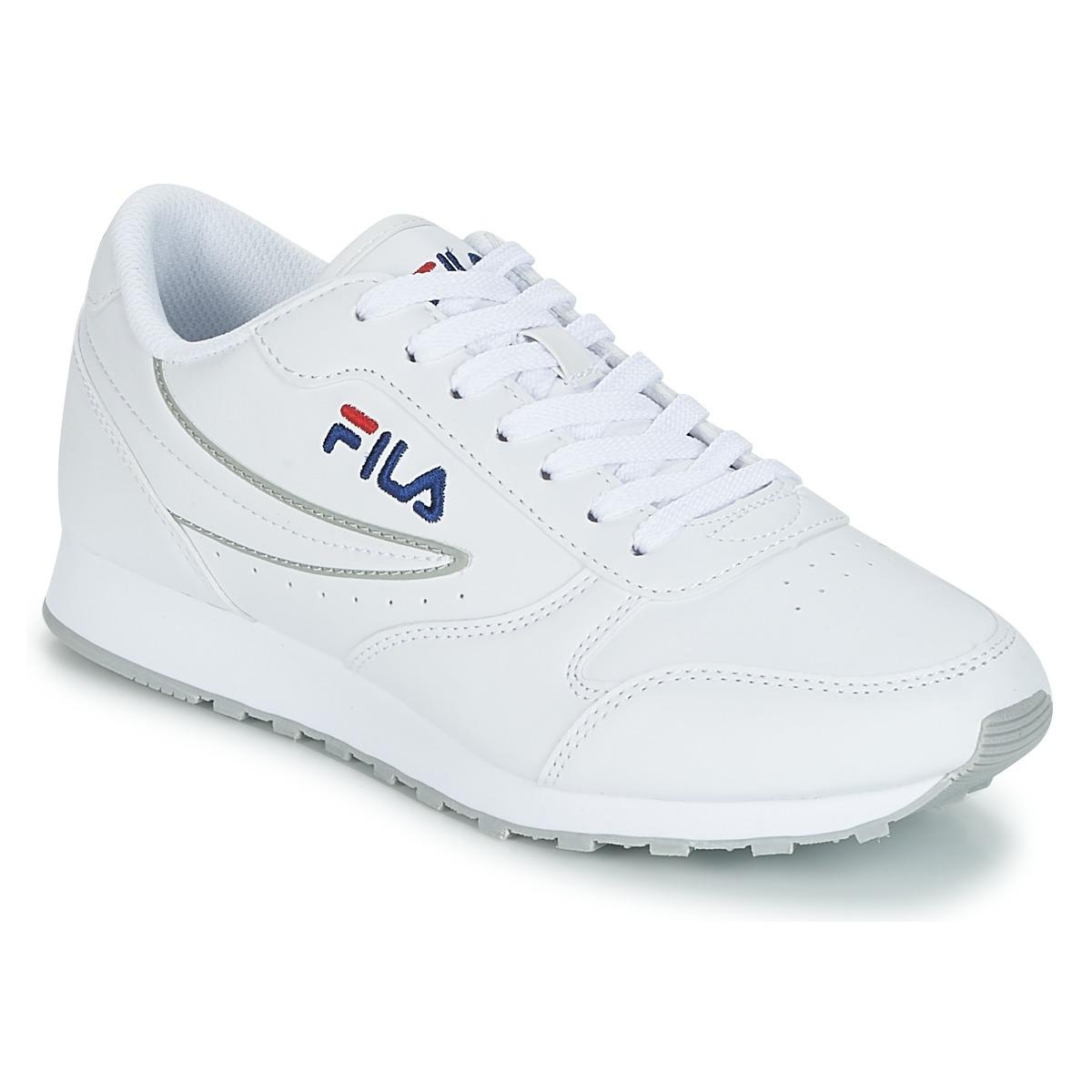 b82b84468c7 Fila Orbit Low Wmn Shoes (trainers) in White - Save 24% - Lyst