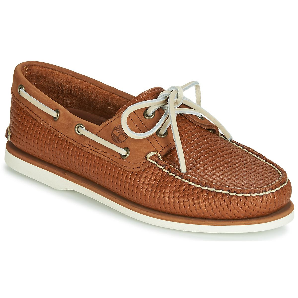 167c0437081e0 Timberland Classic Boat 2 Eye Boat Shoes in Brown for Men - Lyst