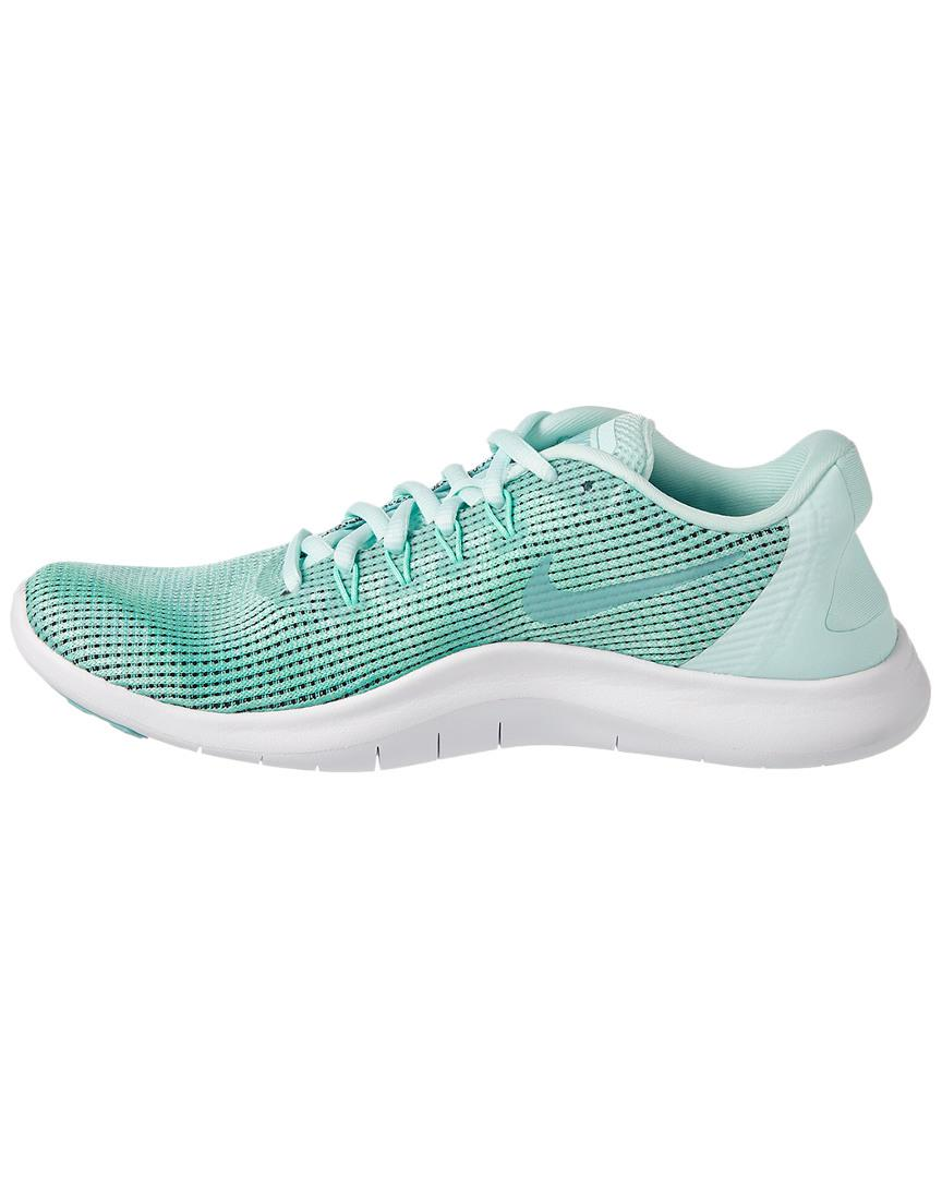 dc40e9024715d Lyst - Nike Flex Rn 2018 Running Shoe in Green - Save 39%