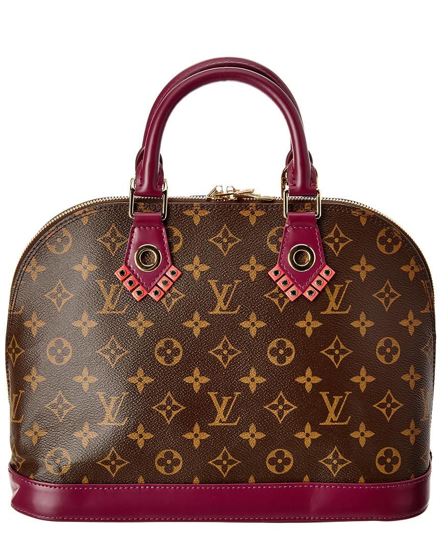 78b079b76f78 Louis Vuitton Limited Edition Totem Monogram Canvas Alma Pm in Brown - Lyst