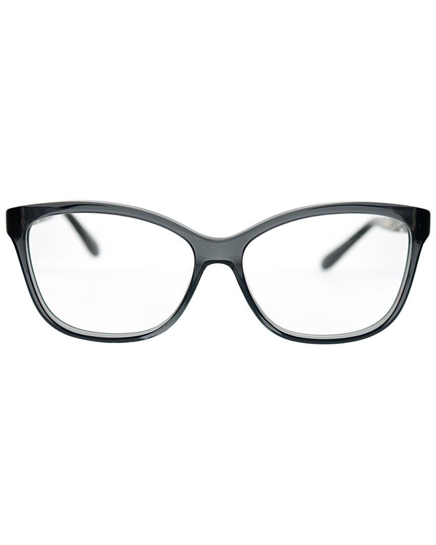 bfe9f65565a Lyst - Jimmy Choo Rectangular 55mm Optical Frames - Save 1%