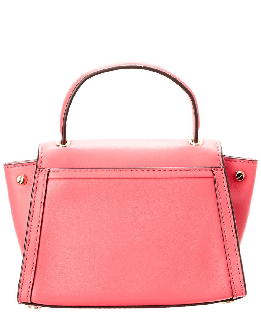0ead7127ac03 MICHAEL Michael Kors Michael Kors Whitney Mini Messenger Bag in Pink - Lyst