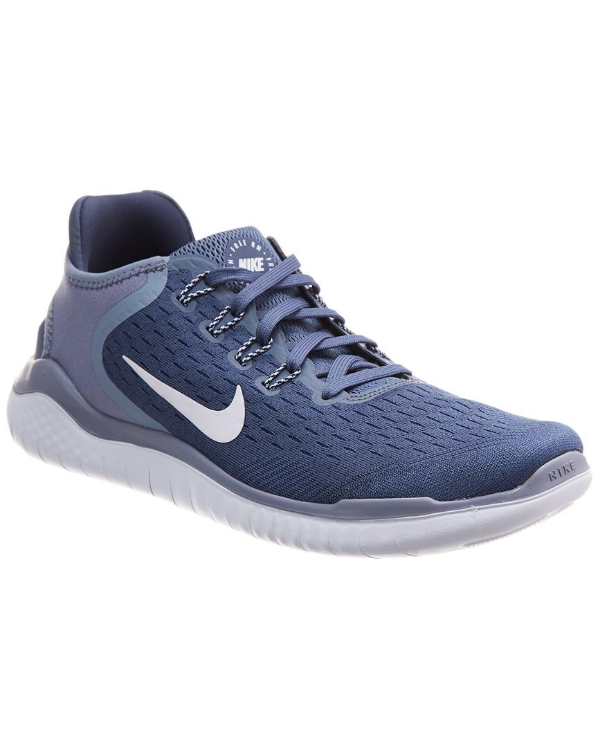 770056423b06 Nike Free Rn 2018 Mesh Sneaker in Blue for Men - Save 2% - Lyst