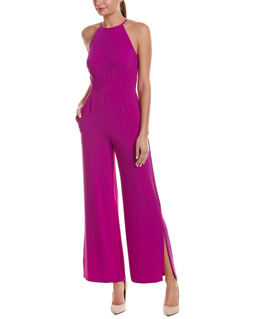 57ab8288a0d Lyst - Tahari Tahari Asl Jumpsuit in Purple - Save 13%