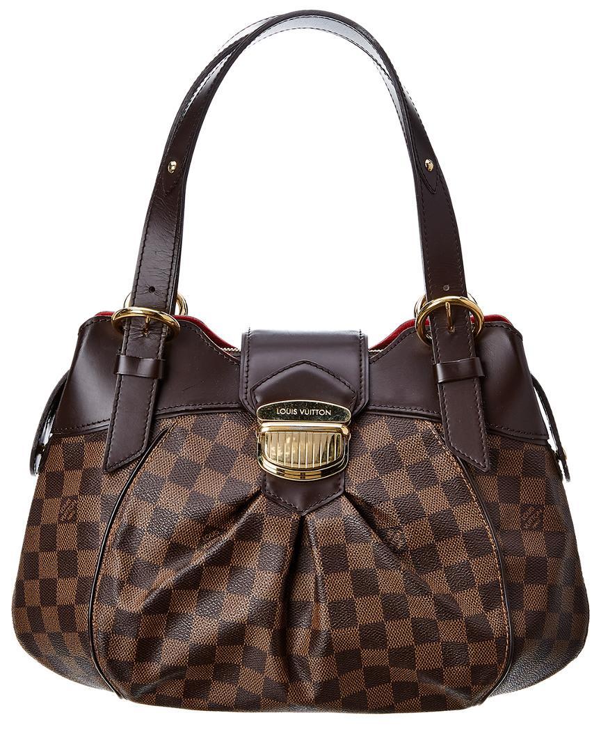 e04bb789fd65 Louis Vuitton - Brown Damier Ebene Canvas Sistina Pm - Lyst. View fullscreen