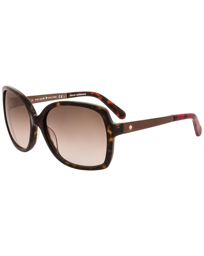 925daad2ae Lyst - Kate Spade New York Darilynn s 58mm Sunglasses in Brown