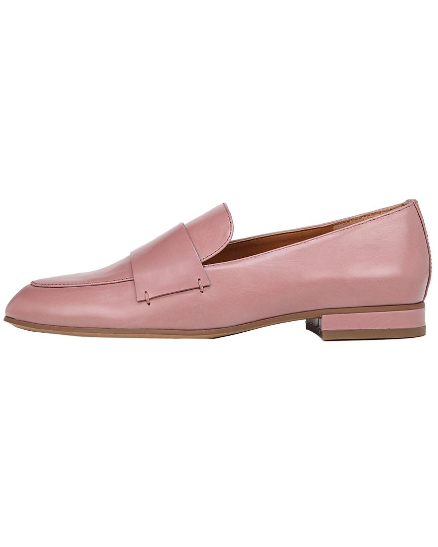 3e8c114e009 Lyst - Franco Sarto Kip Leather Loafer in Pink