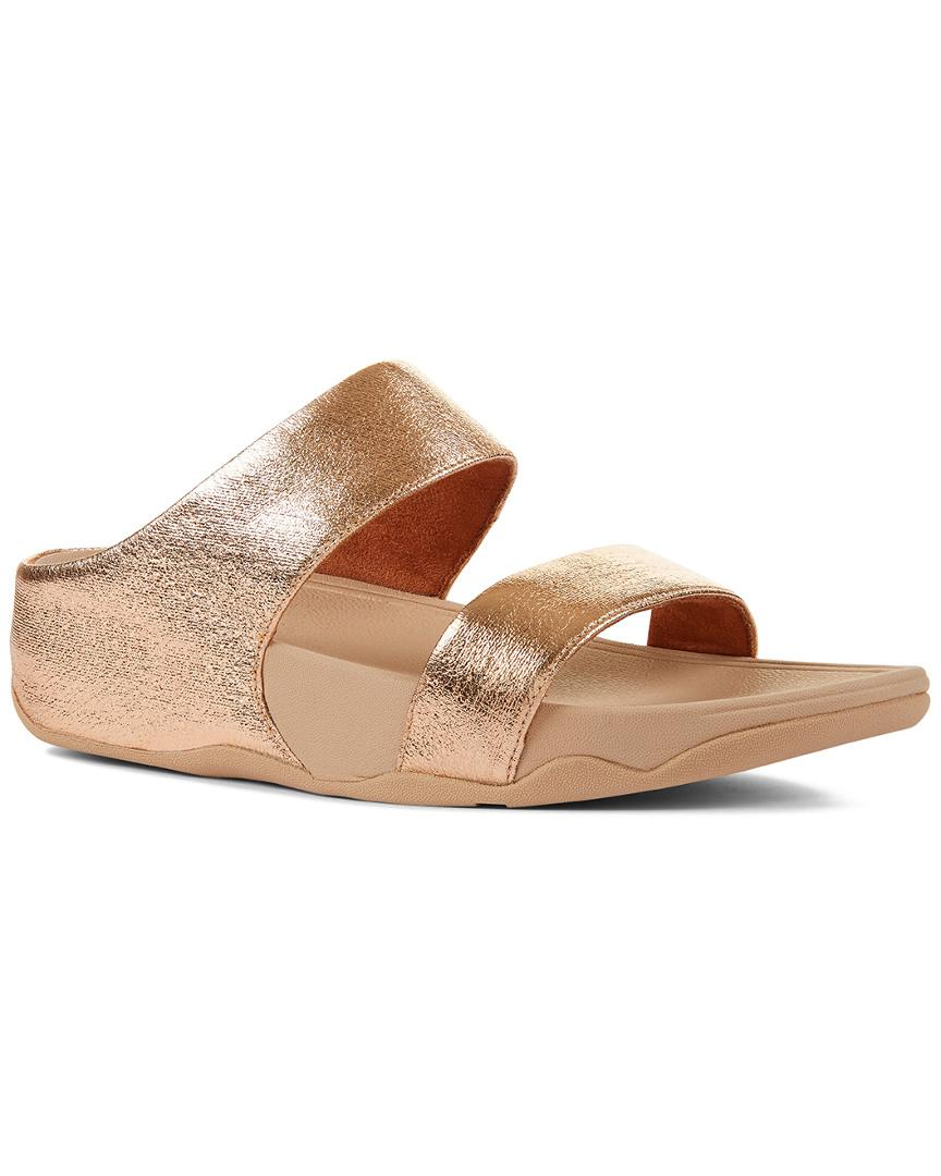 cb637e06b593 Fitflop. Women s Lulu Cross Glitz Slide. £68 £45 From Rue La La