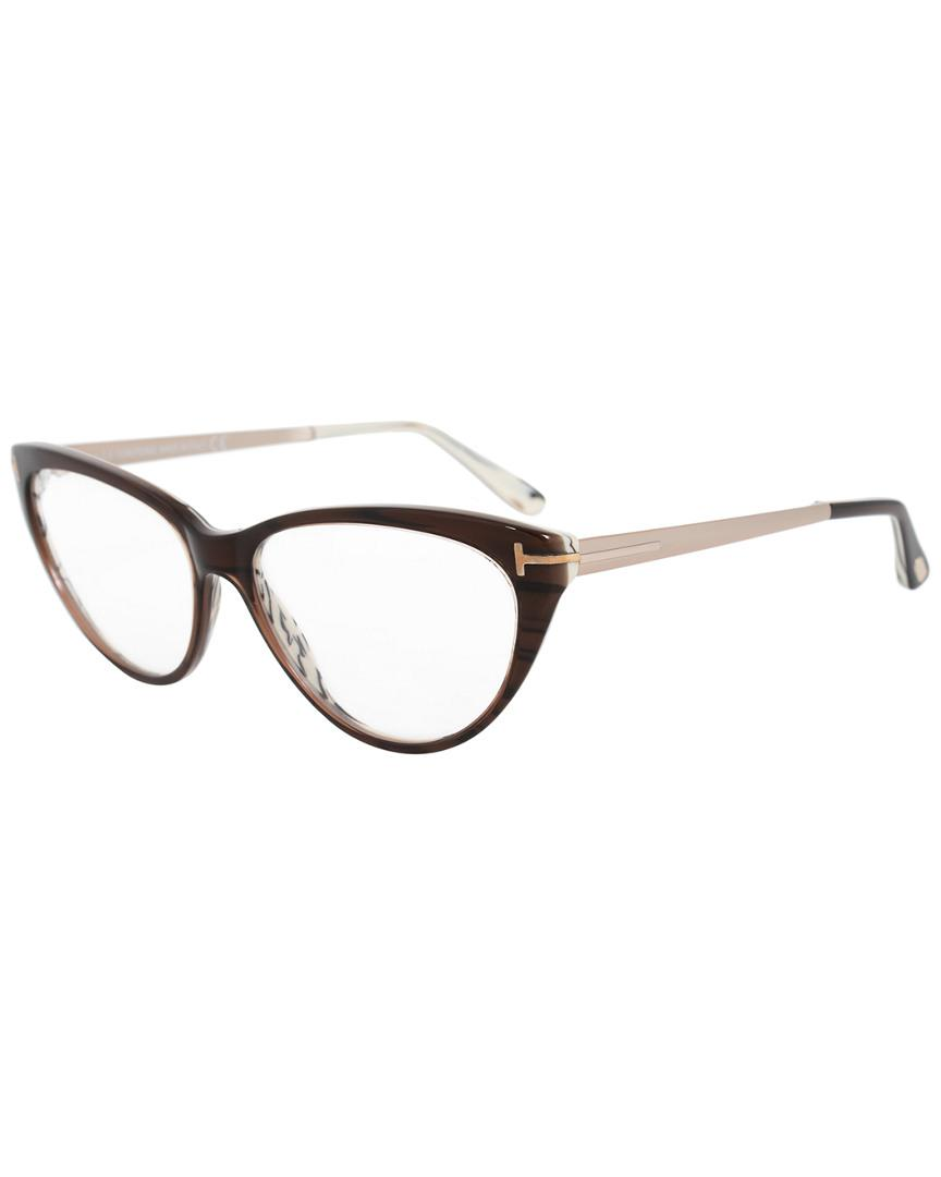 d36f122d8c4 Lyst - Tom Ford Ft5354 53mm Optical Frames in Brown