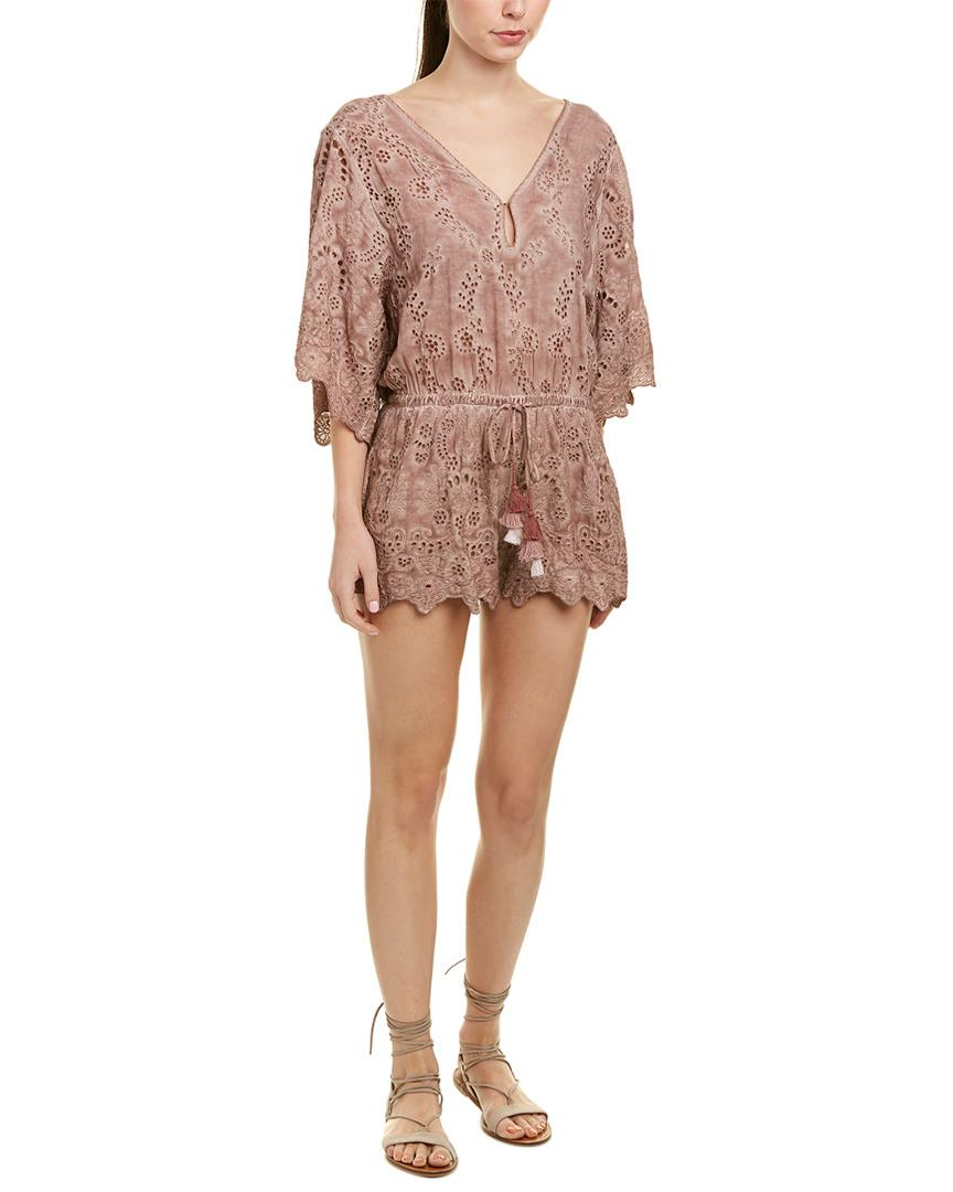 60c484473b4 Lyst - Young Fabulous   Broke Angelou Romper in Pink