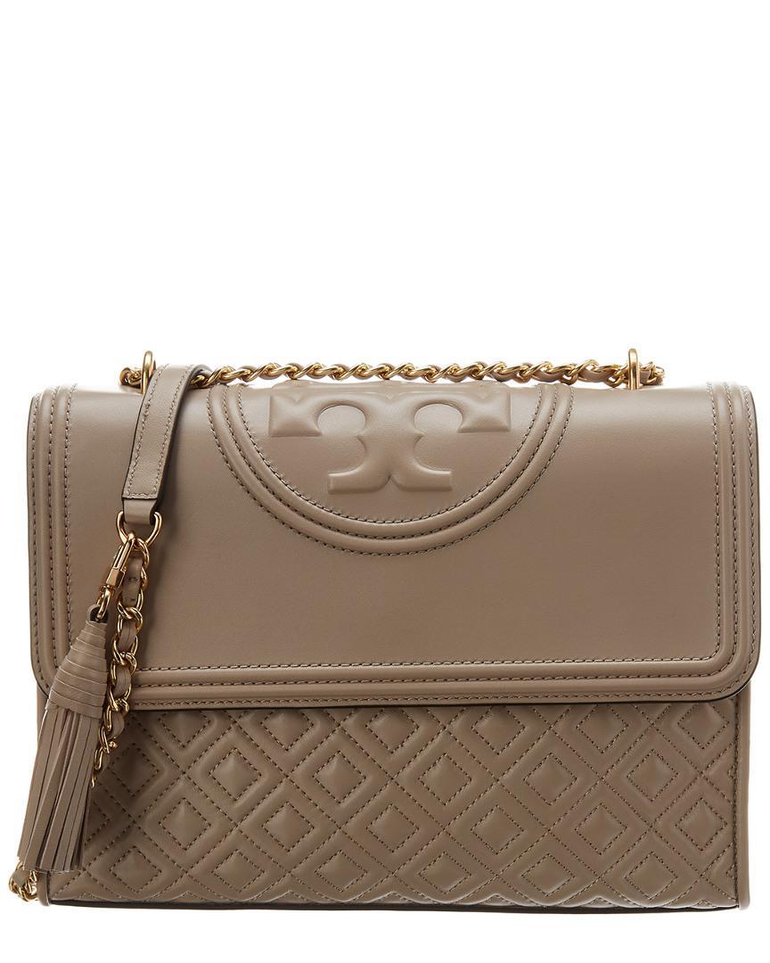 e7d95977201 Tory Burch. Women s Fleming Convertible Leather Shoulder Bag