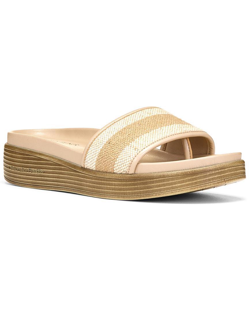 Donald J Pliner Canvas Slide Sandals buy cheap get authentic sale sale online clearance very cheap JlgfGh