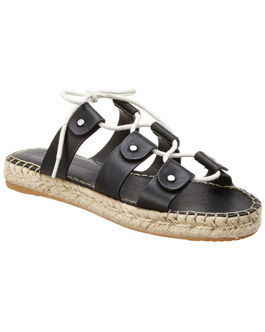 6ab05a2687eac5 Lyst - Dolce Vita Vana Leather Sandal in Black