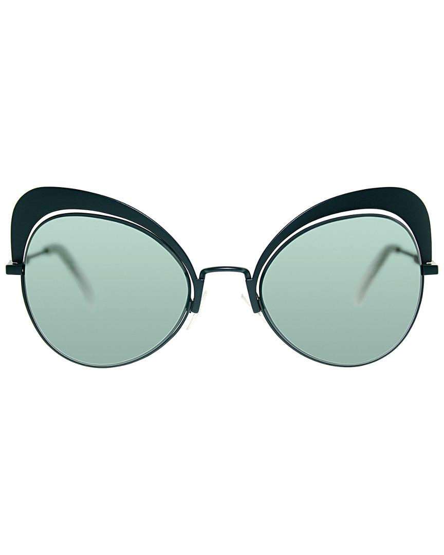 c23970c9dcac Fendi Ff0247 s 54mm Sunglasses in Green - Lyst