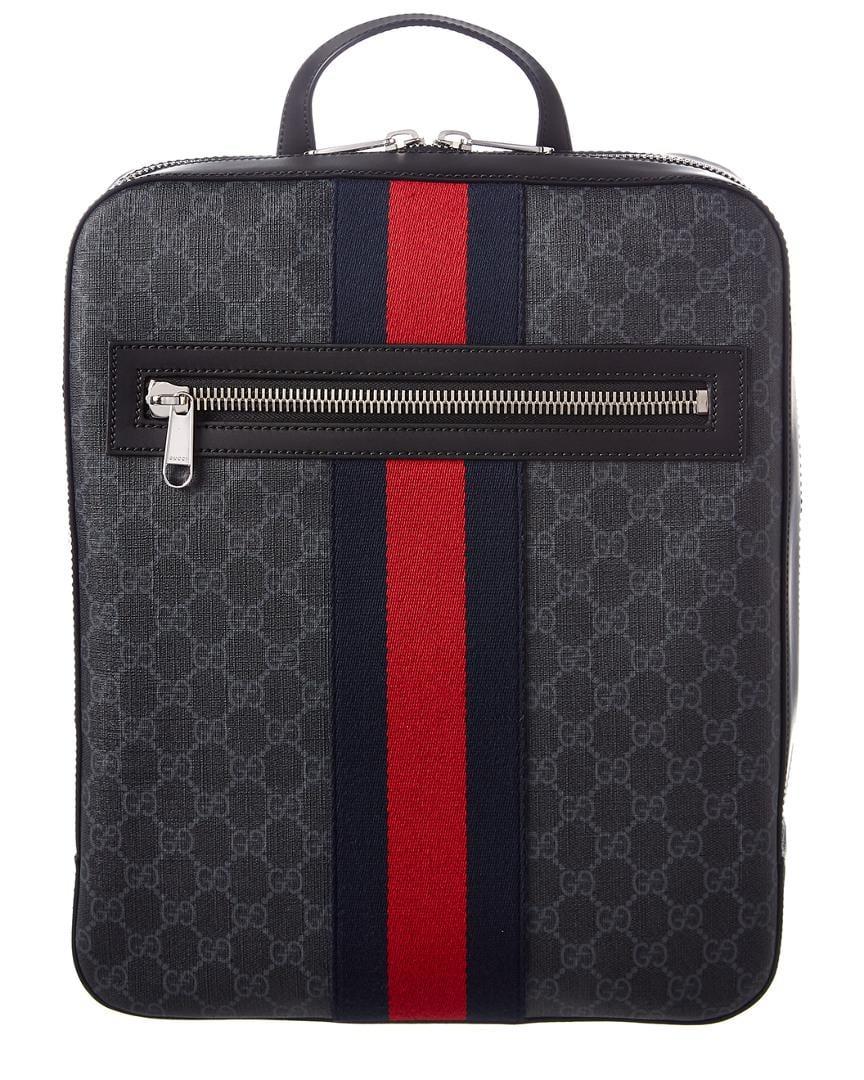 Gucci Gg Supreme Backpack in Black for Men - Save 22.125813449023866 ... b1348812663f7