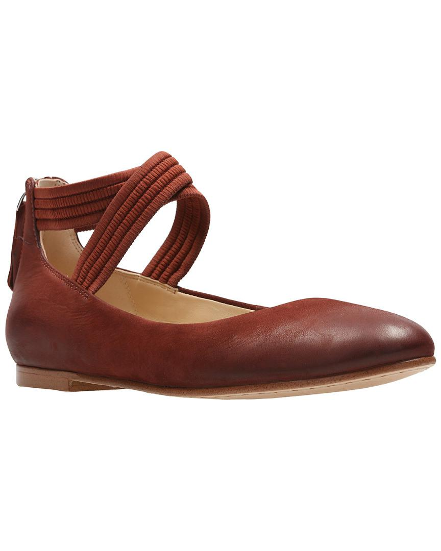 clearance great deals Clarks Grace Anna Leather Flat best for sale cheap sale 100% guaranteed VkYkXFDCz