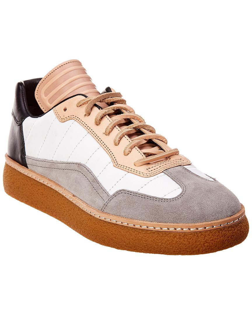 107eb9ff2599ee Alexander Wang Eden Low-top Leather   Suede Sneaker in Gray for Men ...