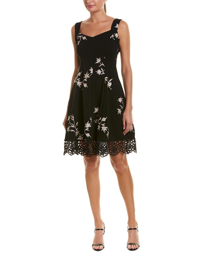 f5748a0f4c882 Donna Ricco A-line Dress in Black - Lyst