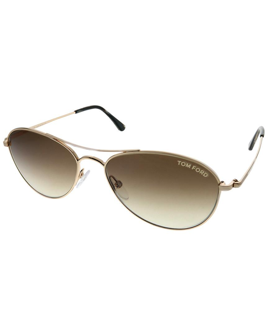 749121b193 Tom Ford - Multicolor Aviator 56mm Sunglasses - Lyst. View fullscreen