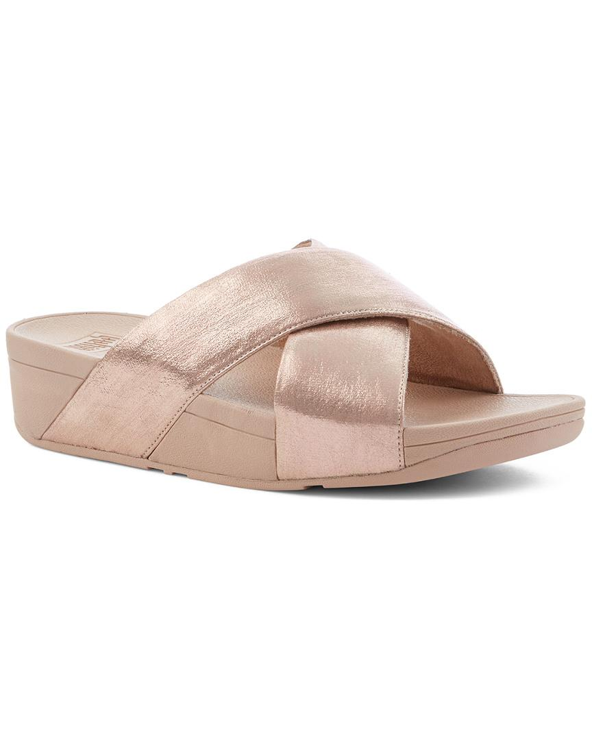 fc0abc8c47b3 Fitflop. Women s Pink Lulu Glitzy Slide. £68 £45 From Rue La La