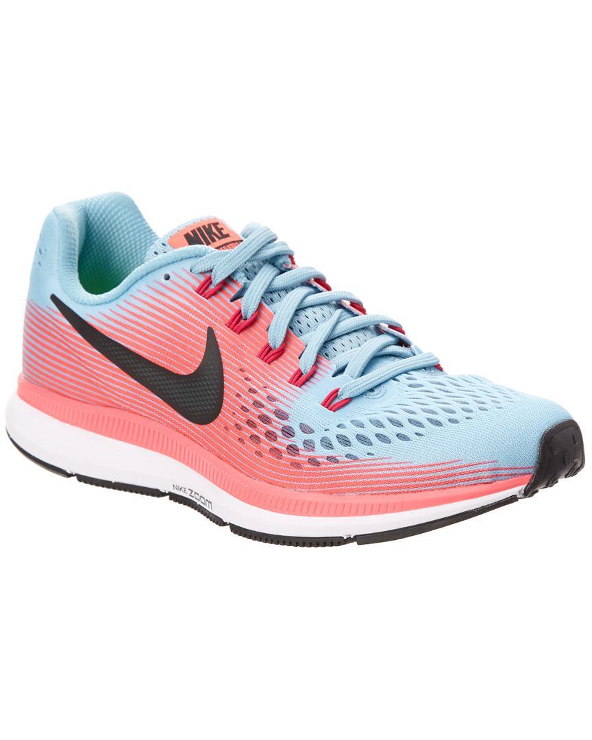Lyst Mujeres En Nike Air Zoom Pegasus 34 Zapatillas En Mujeres Azul Ahorrar 23% cd041d