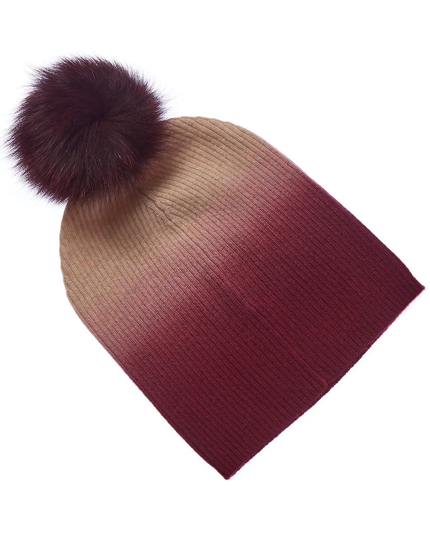e660a770f43c7d Sofia Cashmere Cashmere Ombre Hat in Pink - Lyst