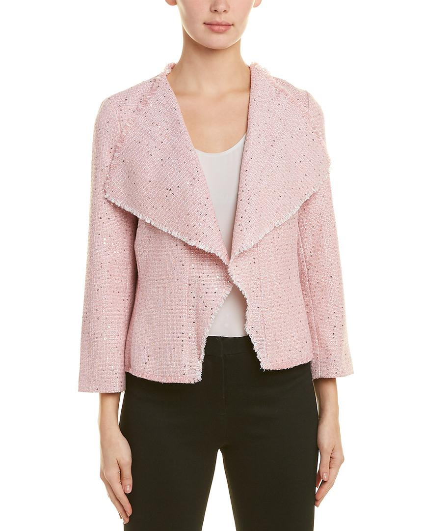 69412816519 Lyst - Karl Lagerfeld Jacket in Pink