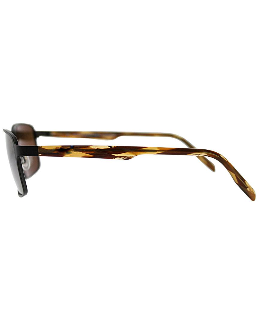 bb08ee7c33 Lyst - Maui Jim Unisex Glass Beach 57mm Polarized Sunglasses