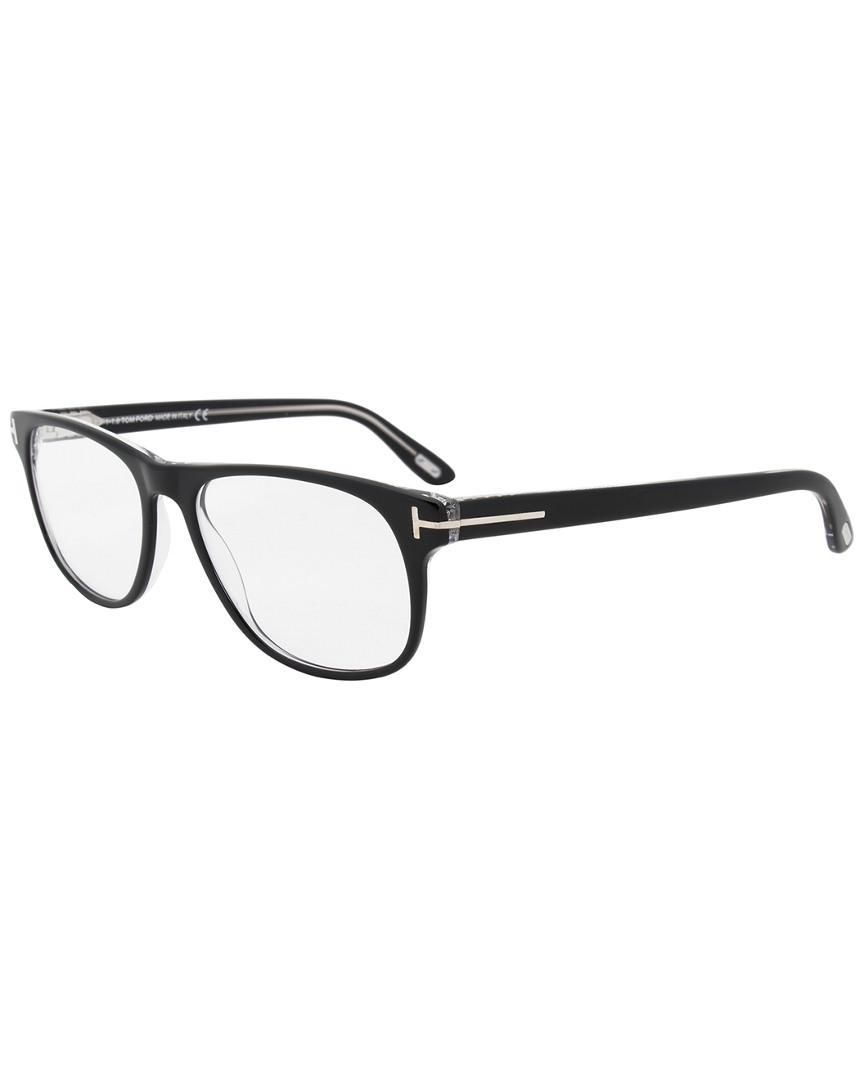 91ce9253ce7e Lyst - Tom Ford Unisex Ft5362 55mm Optical Frames in Black