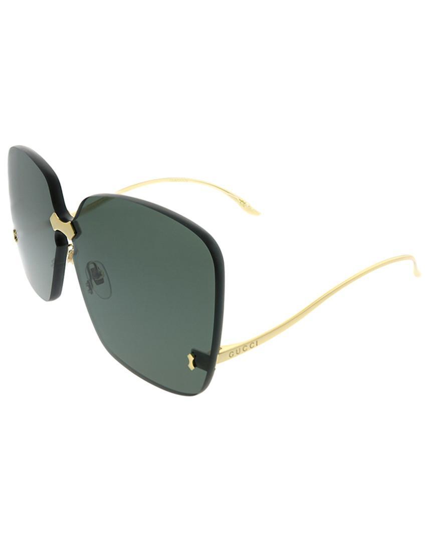 f92051c115b Gucci - Green GG0352S 99mm Sunglasses - Lyst. View fullscreen