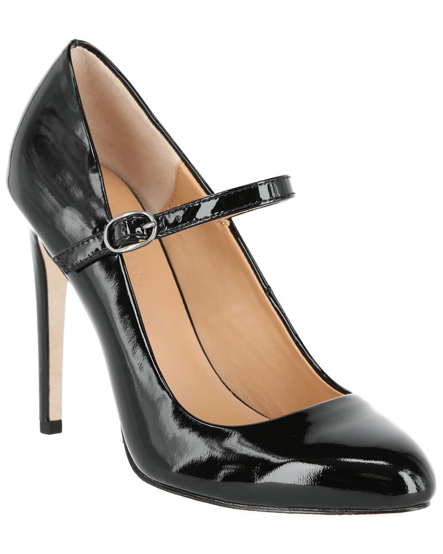 bbc421c16ca0 Halston Carol Leather Mary-jane Pump in Black - Lyst