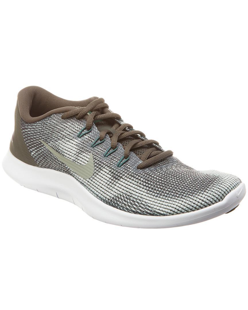 19316b860005 Lyst - Nike Flex Rn Mesh Sneaker in Green for Men