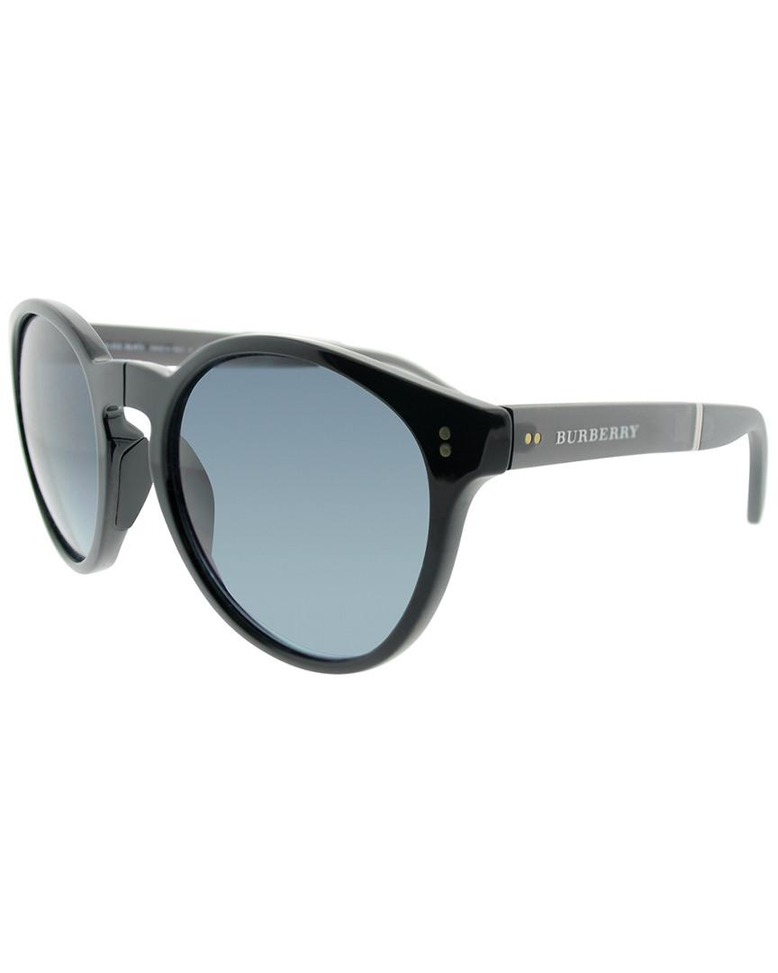 5463cc6844 Burberry Be4221 55mm Polarized Sunglasses - Lyst