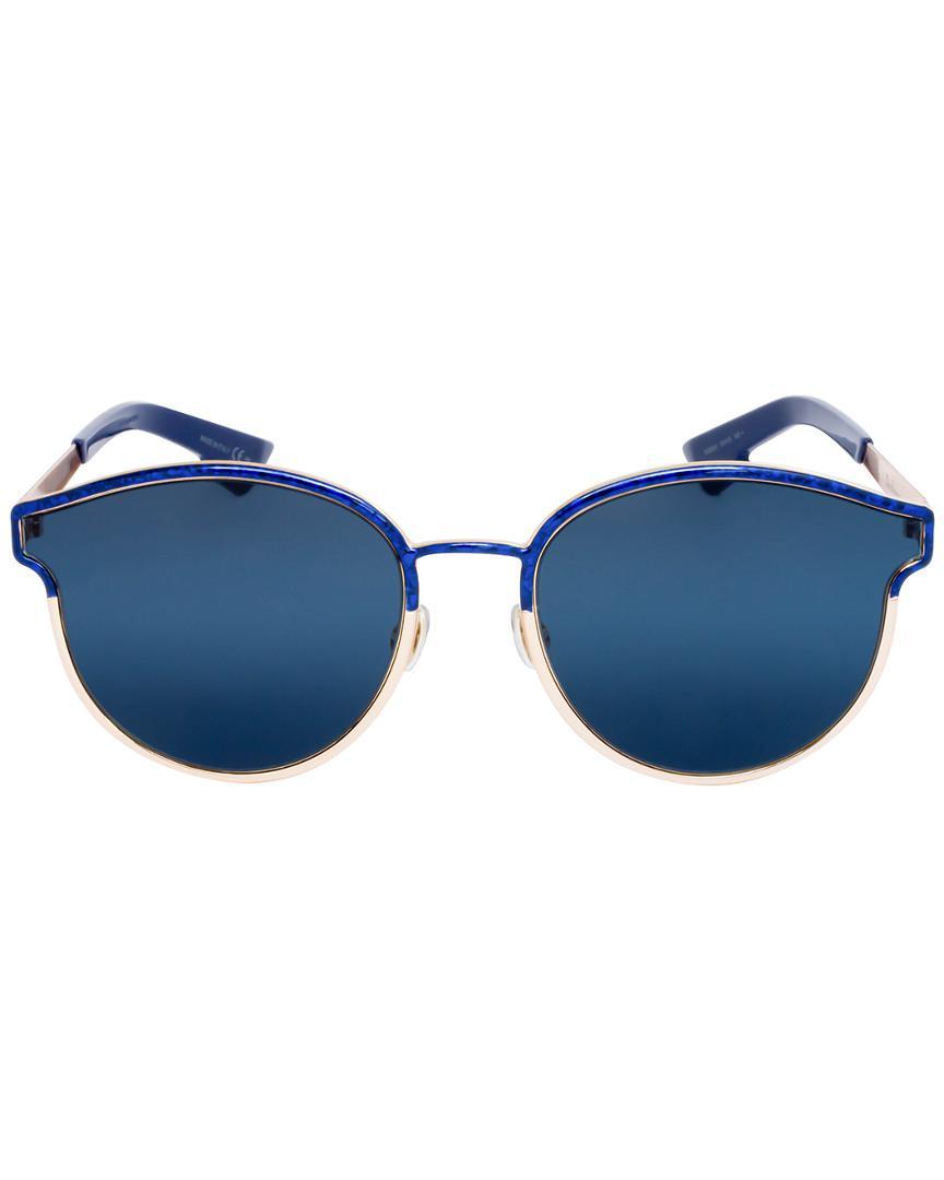 c1a1bae31d2 Lyst - Dior Symmetric 59mm Sunglasses in Blue - Save 1%
