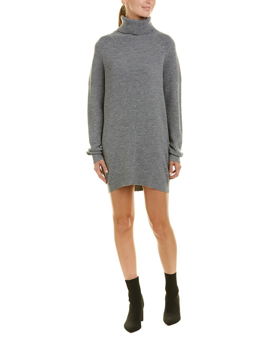 ab5a2e9d278 Michael Stars Cowl Neck Sweaterdress in Gray - Lyst