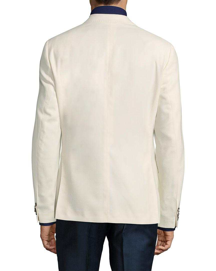 37f9bb9f89 J.Lindeberg Hopper Soft Structured Stretch Sportcoat in White for Men -  Save 2.142857142857139% - Lyst