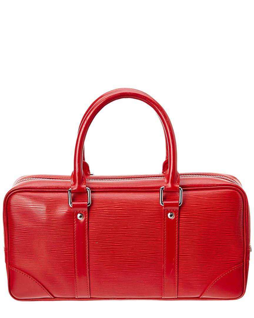 07967f3fdd8 Louis Vuitton Red Epi Leather Vivienne Long in Red - Lyst