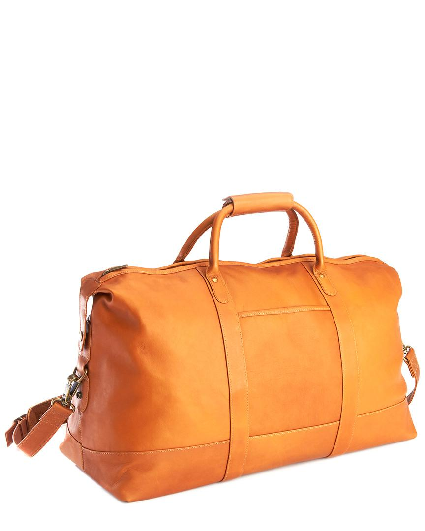 9411058ca3 Royce Colombian Leather Weekender Duffel Bag in Brown for Men - Lyst