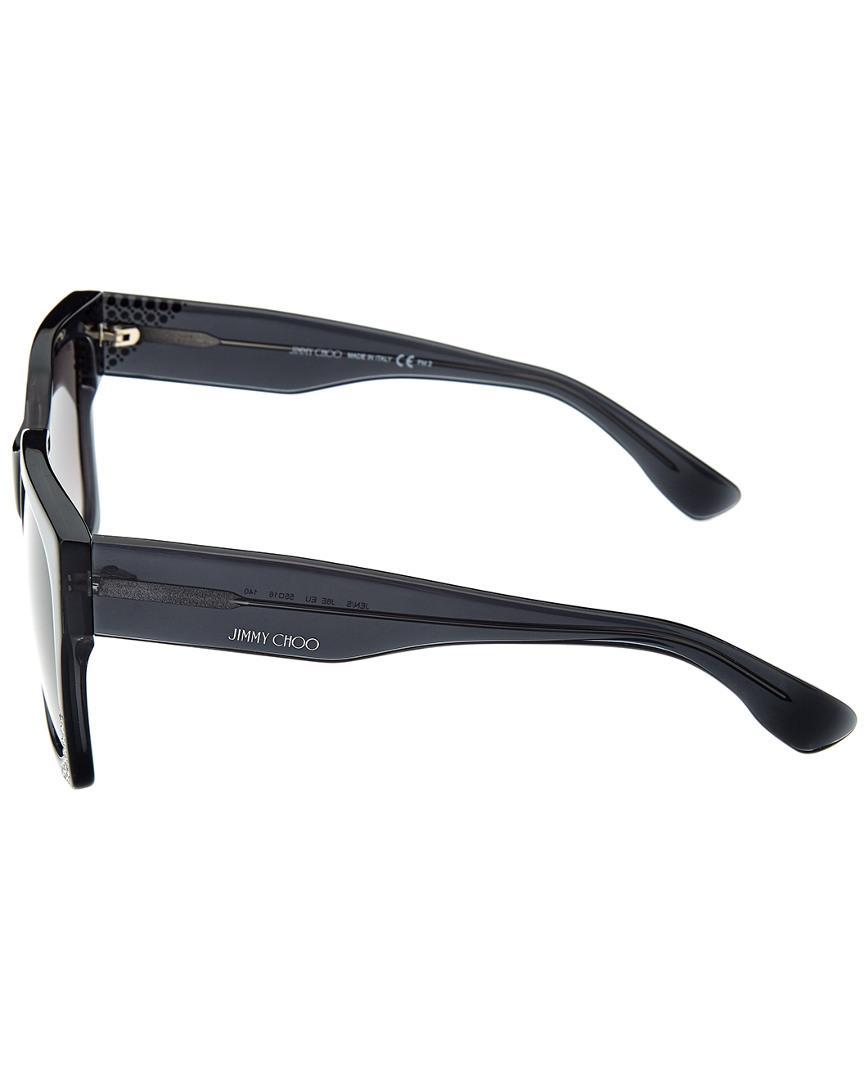 b8be31f95905 Jimmy Choo Jen s 55mm Sunglasses - Lyst