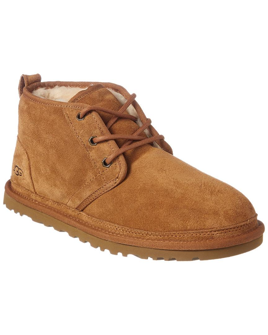fa8e8637cbb UGG Men's Neumel Suede Chukka Boots in Brown for Men - Lyst