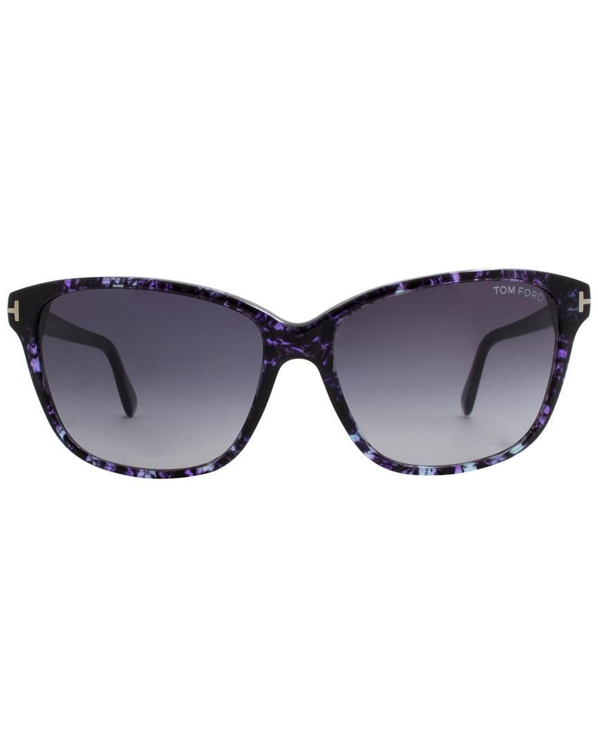 451331053f656 Lyst - Tom Ford Dana 59mm Sunglasses in Blue