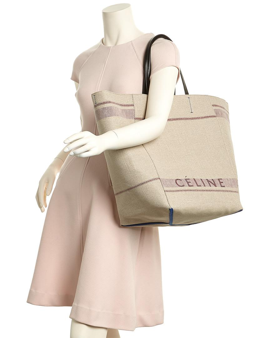 4799401d630 Lyst - Céline Céline Large Cabas Phantom Canvas Tote in Purple